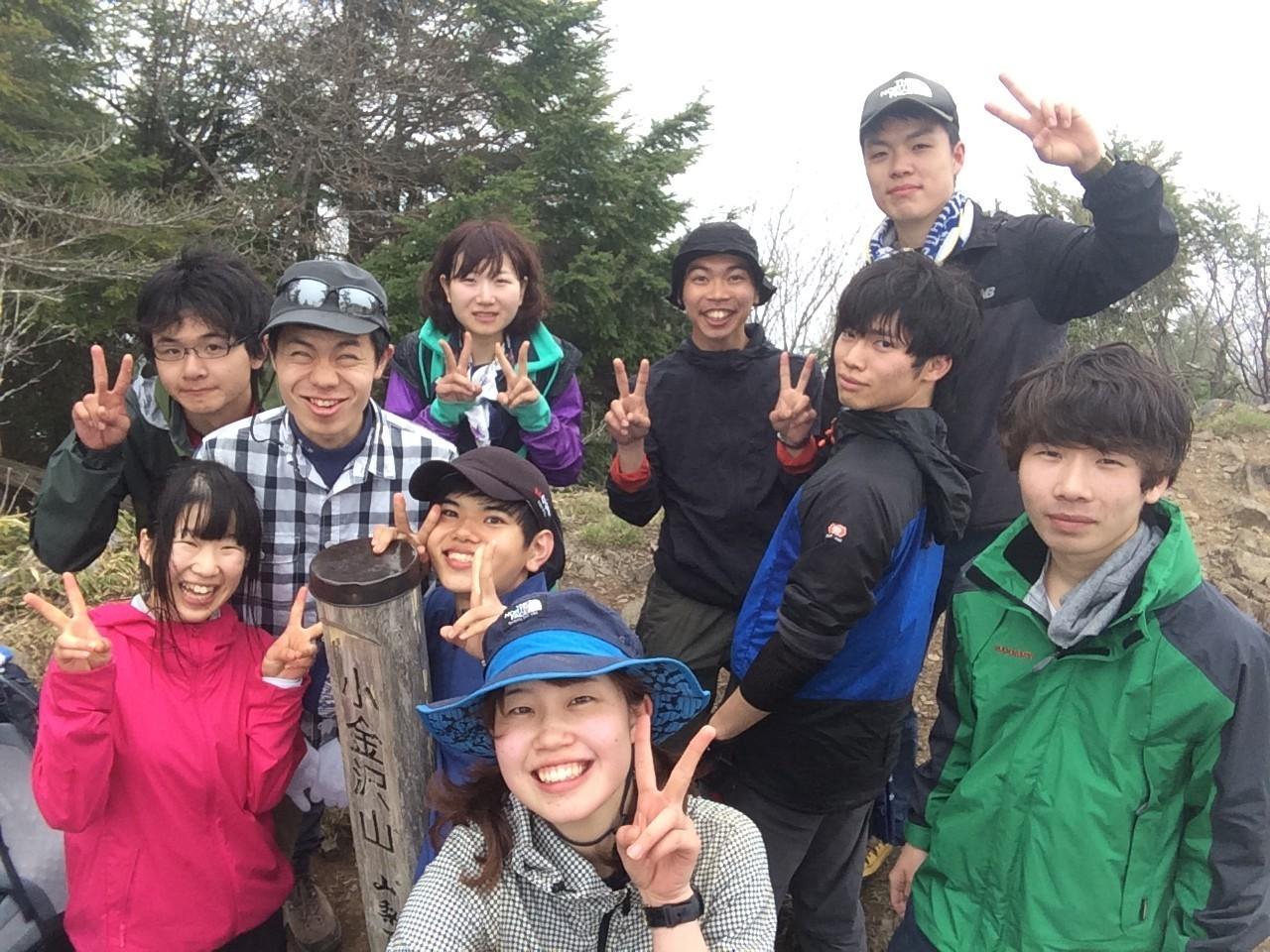 05.4-5 新歓合宿 小金沢山~大菩薩峠