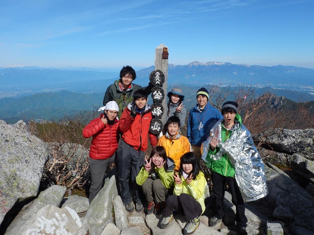 05.15~16 強化①金峰山瑞牆山